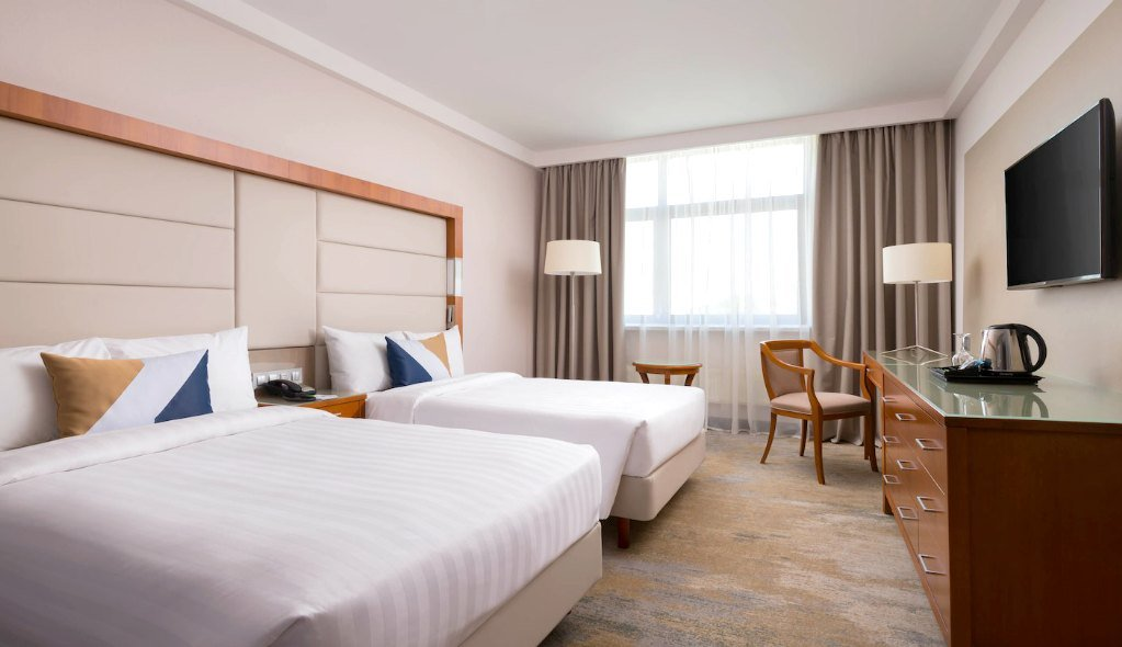 Renewed Standard Room at Courtyard by Marriott Moscow City Center, Moscow
