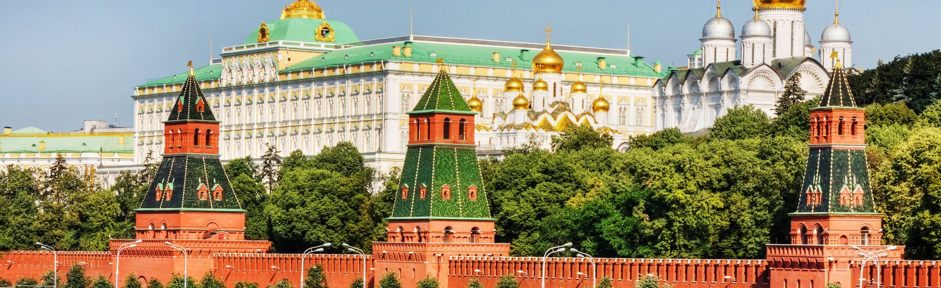 Visit Russia's most renowned icon - the red-brick Kremlin on your Moscow tour