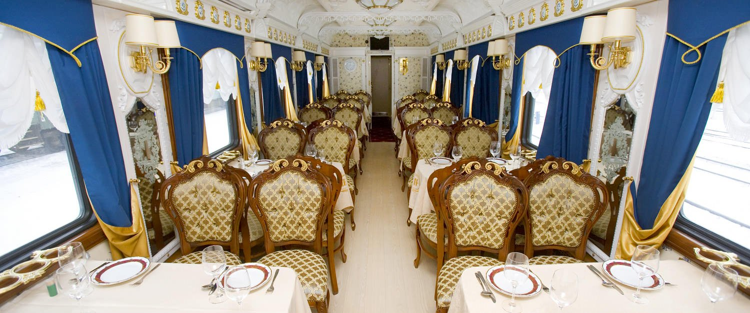 Imperial Russia Train Restaurant View