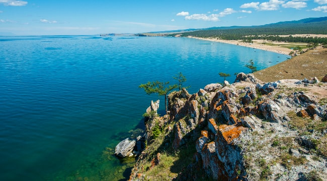 Russia's gem, the one-of-a-kind lake of Baikal