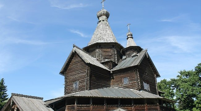 Velikiy Novgorod Wooden Church