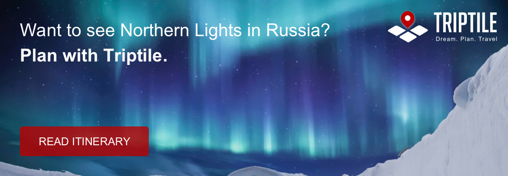 Tour to Northern Lights in Russia