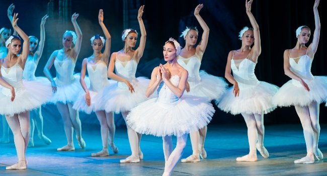 Ballet performance in Russia