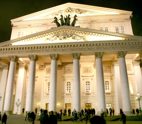 Bolshoi Theater Moscow Tour