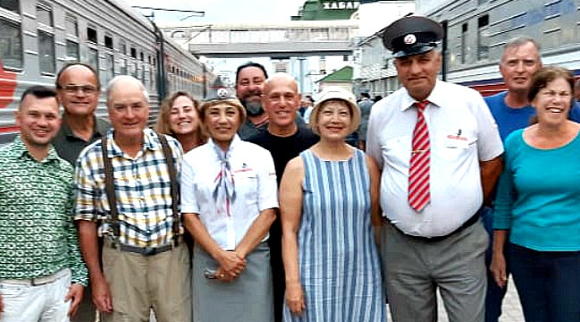 Happy Clients from Trans Siberian Tour