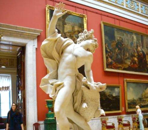 Hermitage Museum Statue