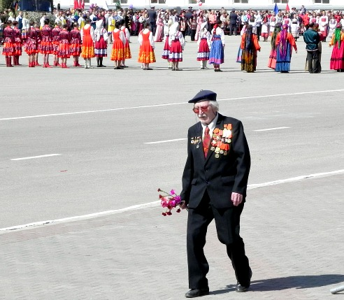 Moscow Victory Parade Veteran