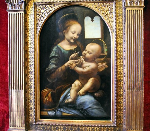 The Hermitage Museum Madonna Painting