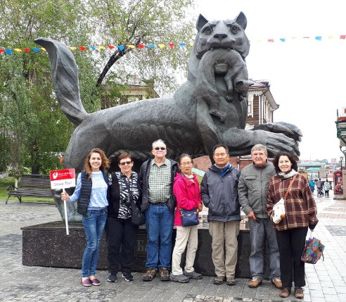Travel All Russia Travelers Group Photo
