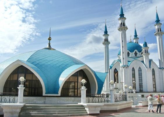 Kul Sharif Mosque, Kazan, Russia