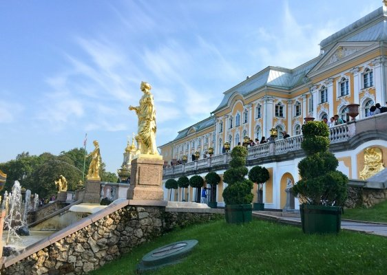 Peterhof Fountains and Gardens