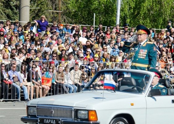 Victory Day Celebrations in Moscow and St. Petersburg