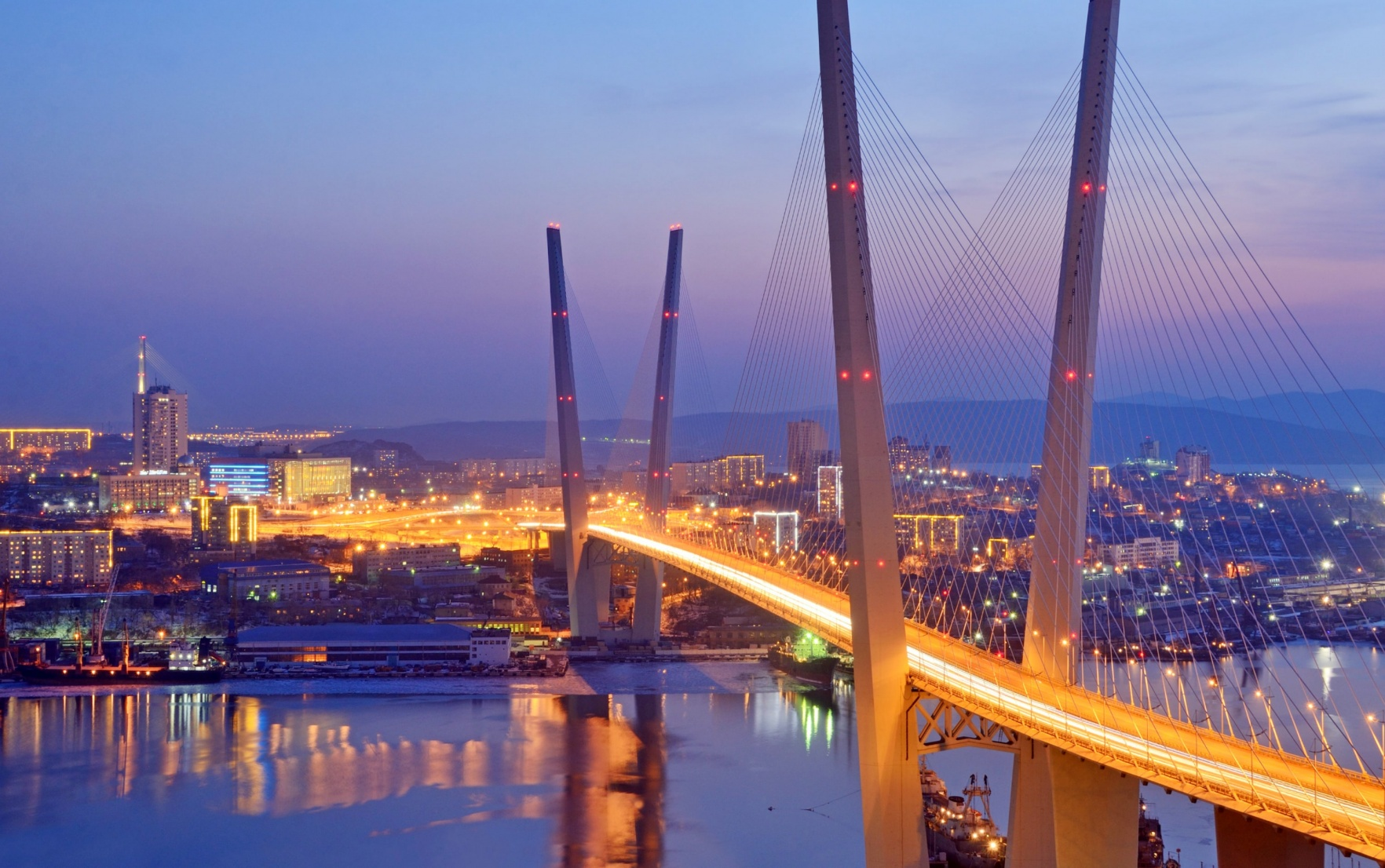 Russky Bridge, Vladivostok