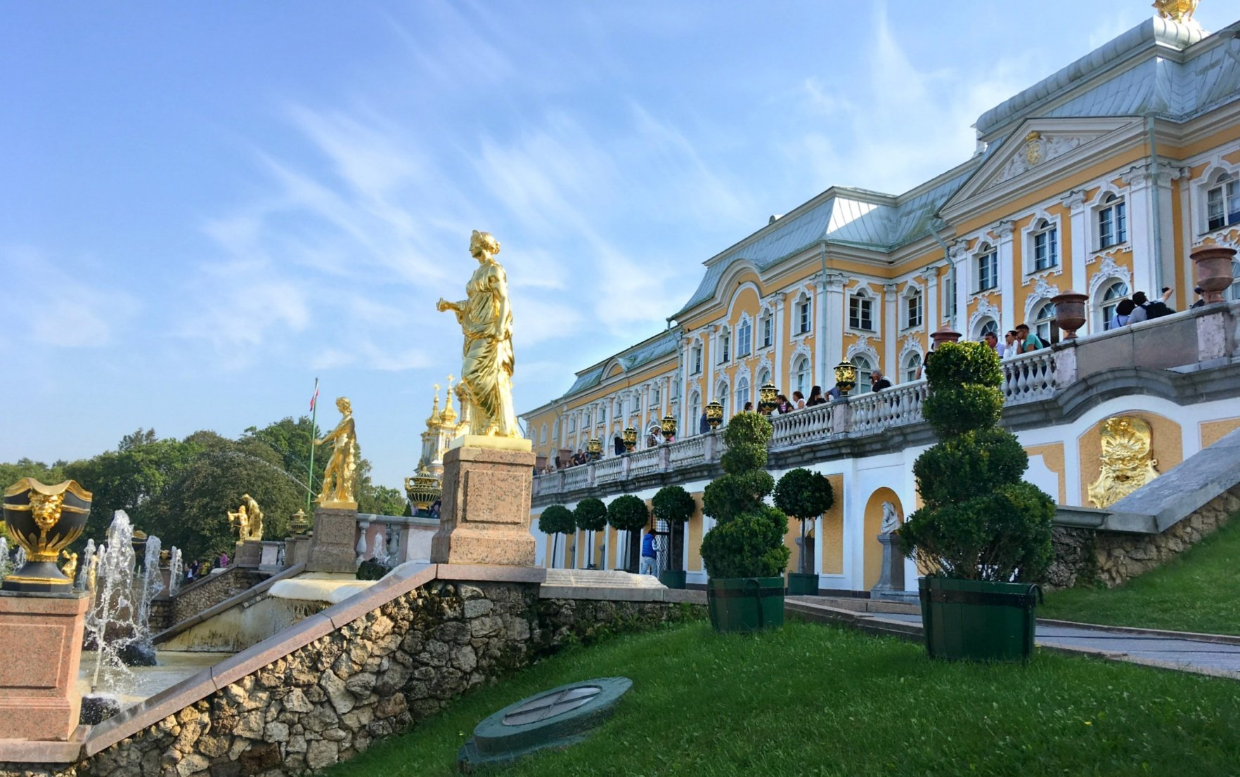 New Peterhof Fountain Season