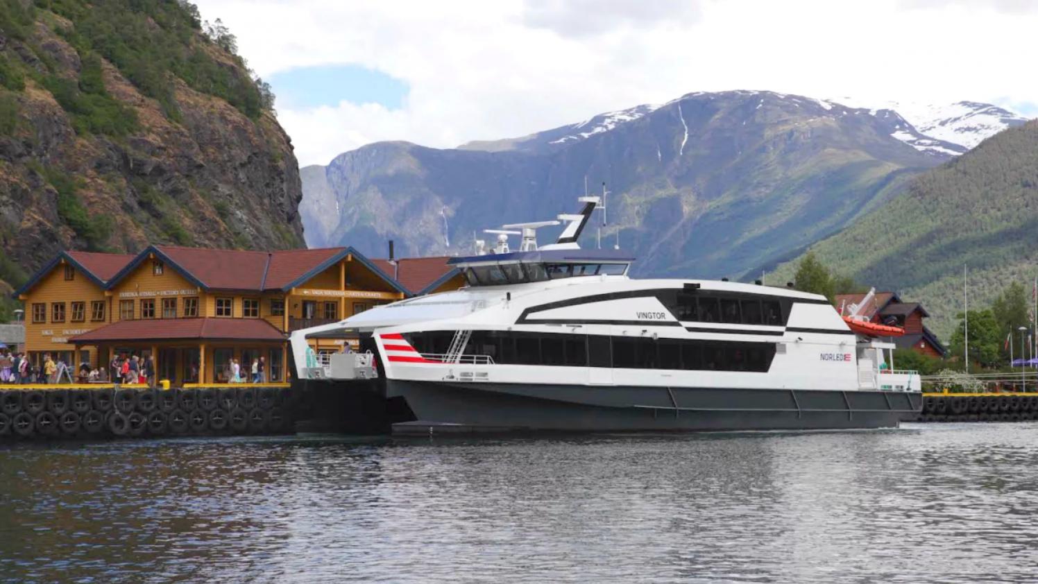 Flam - Bergen Nordled boat
