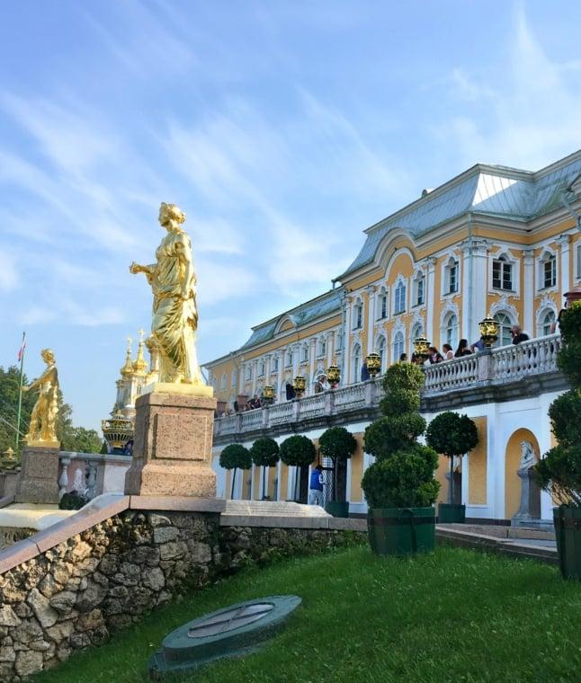 Peterhof Fountains and Gardens