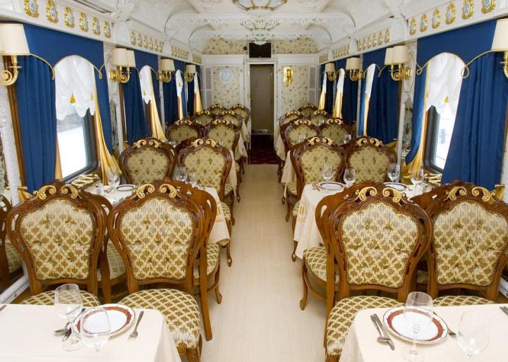 Imperial Russia Train Restaurant View