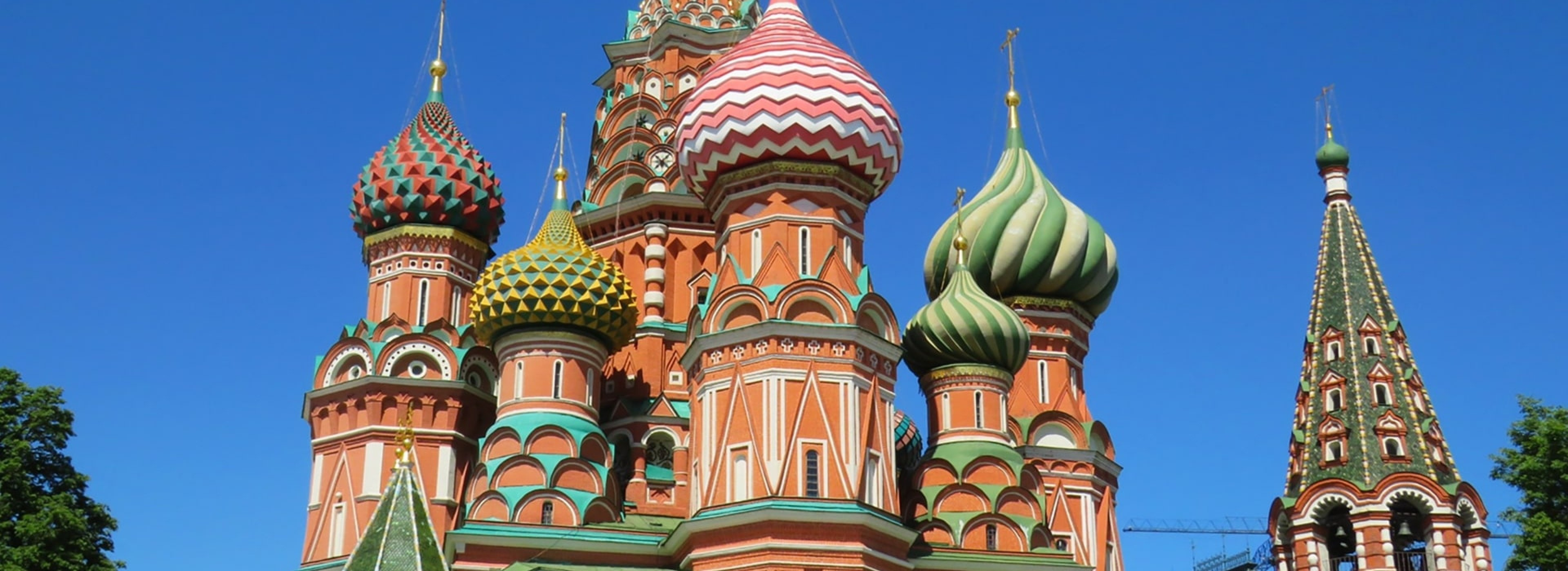 St. Basil's Church in Moscow
