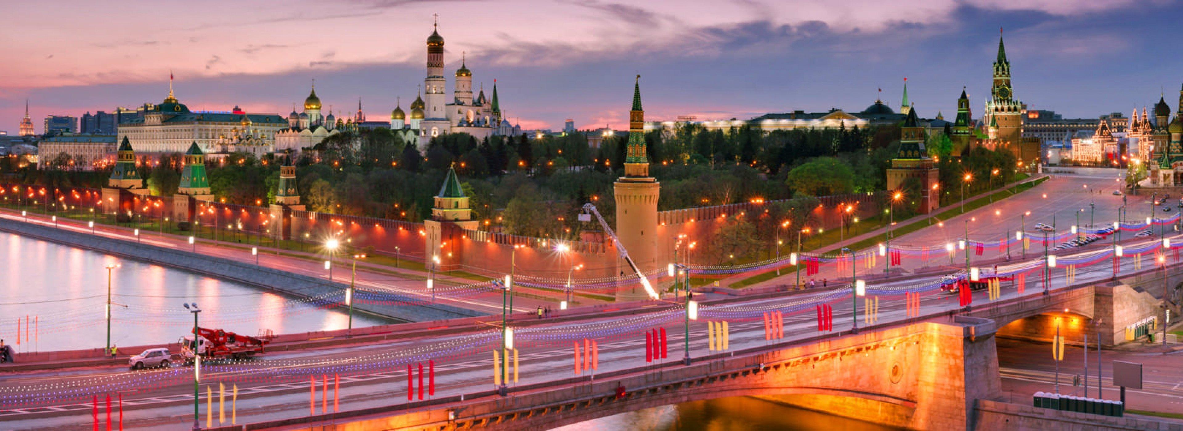 Moscow Night Tour